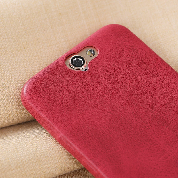 X-Level Vintage PU Leather Case For HTC A9 Luxury Back Case Cover