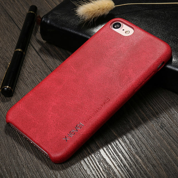 X-Level For Apple IPhone 7 8 Soft PU Leather Case Ultra Thin Cover For IPhone 7 8 Plus Case Luxury Coque Funda Bag