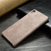 X-level Leather Case For Sony Xperia Z3 Soft PU Original Business Case Ultra Thin 360 Full Protection Cover For Sony Z3 Case
