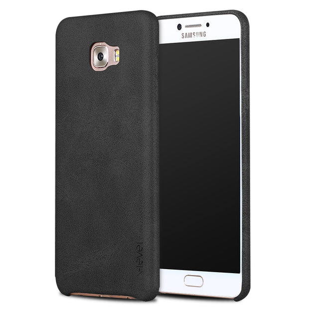 X-level PU Leather Case For Samsung Galaxy C5 Pro Luxury Vintage Back Cover Ultra Thin 360 Full Protection For C7 Pro Case Cover
