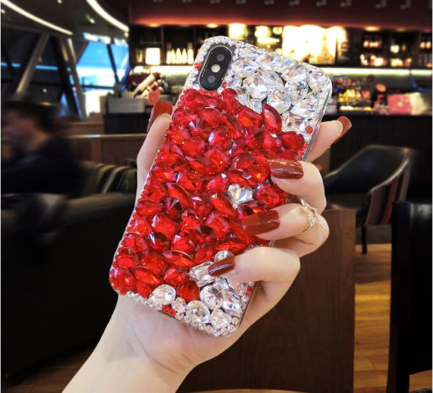 XSMYiss For Samsung Galaxy A3 A5 A7 J3 J5 J7 2016 2017 Luxury Rhinestones Case Diamond Glitter Jewelled Case Cover Crystal