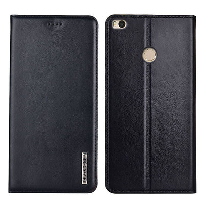 Xiaomi Mi Max 2 Case Flip Genuine Leather Soft Silicon Back Cover For Xiaomi Mi Max2 Cases
