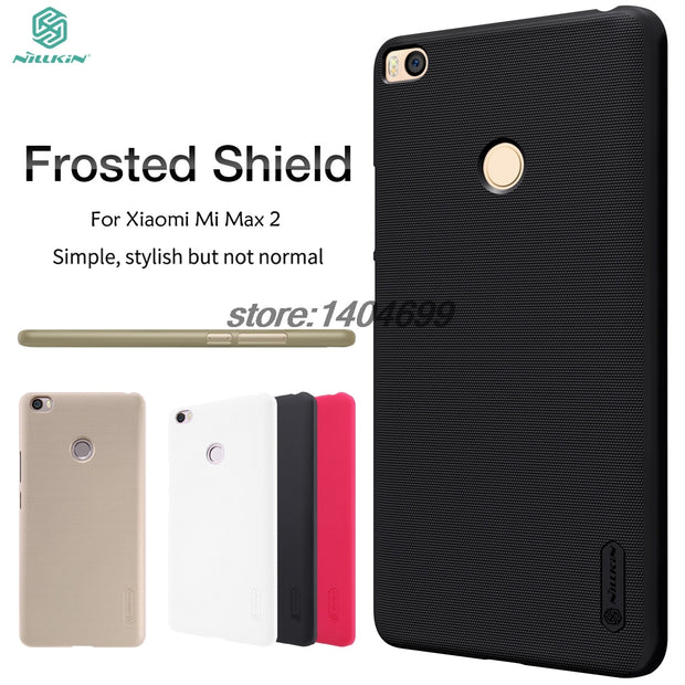 Xiaomi Mi Max 2 Case Xiaomi Mi Max 2 Matte Cover Nillkin Frosted Shield Back Case For Xiaomi Mi Max 2