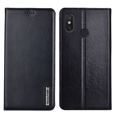 Xiaomi Mi Max 3 Case Flip Genuine Leather Soft Silicon Back Cover For Xiaomi Mi Max3 Cases