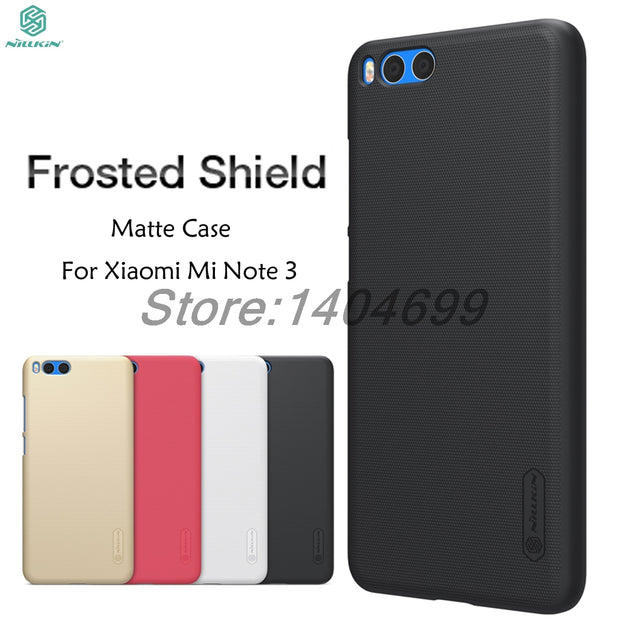 Xiaomi Mi Note 3 Case Xiaomi Mi Note 3 Matte Case Nillkin Frosted Shield Hard Back Cover Case For Xiaomi Mi Note 3