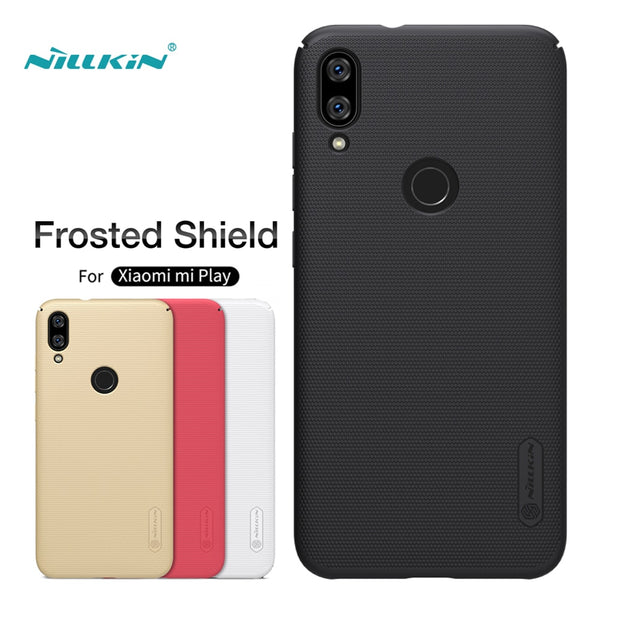 Xiaomi Mi Play Case Nillkin Frosted Shield Hard Back Cover Matte Case For Xiaomi Mi Play / Mi5 Pro Bumper Gift Holder