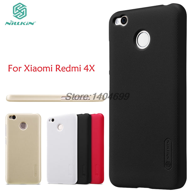 Xiaomi Redmi 4X Case Xiaomi Redmi 4X Pro Matte Cover Nillkin Frosted Shield Back Case For Xiaomi Redmi 4X
