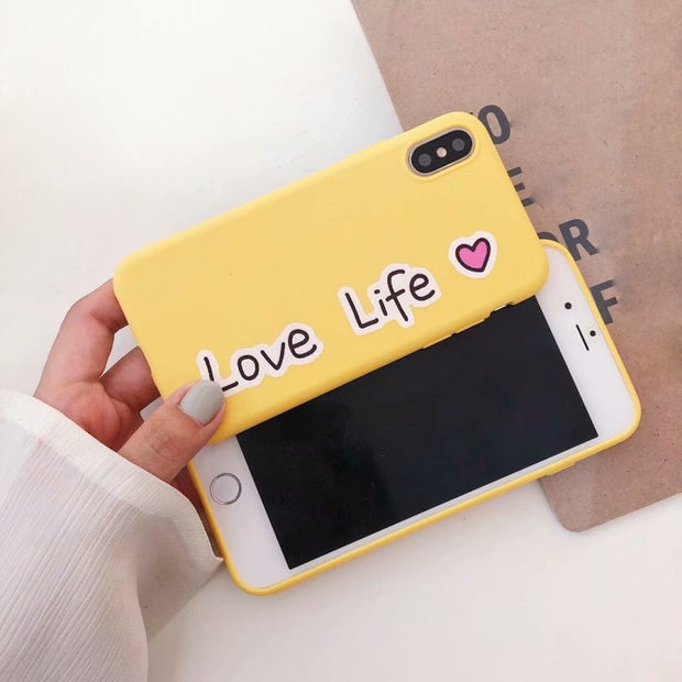 YESPURE Printed Phone Case For IPhone X 6 6S 7 8 Plus Case Soft Silicone Coque For Apple IPhone Back Cover Funda Drop Shipping