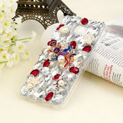YOKIRIN 3D Handmade Rhinestone Case For Samsung Galaxy S6 S7 Edge S8 Plus Note 8 Luxury Glitter Diamond Bling Crystal Cover