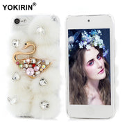 YOKIRIN Diamond Case For IPhone 7 Plus Touch 5 6 Glitter Cover For Samsung Galaxy S7 S6 Edge Plus Note 5 For Huawei P8 P9 Lite