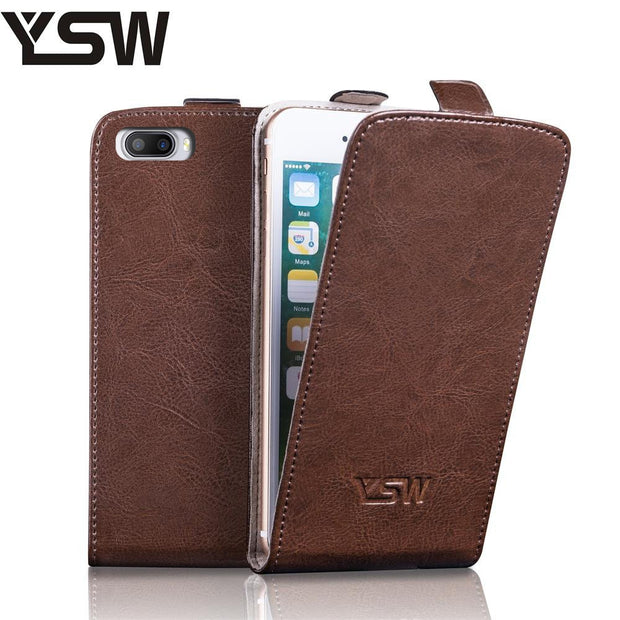 YSW For Doogee Shoot 2 Genuine Leather Case Luxury Flip Cover Superior Quality YOURSWAY Here Free Gift With Screen Protector