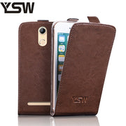 YSW For Homtom HT17 Pro Genuine Leather Case Luxury Flip Cover YOURSWAY Cases For Homtom HT17