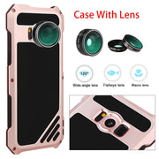 [Year-end Clearance] For Samsung Galaxy S7 S8 With Lens Luxury Heavy Duty Armor Case For Samsung S8 Shockproof Back Cover Case