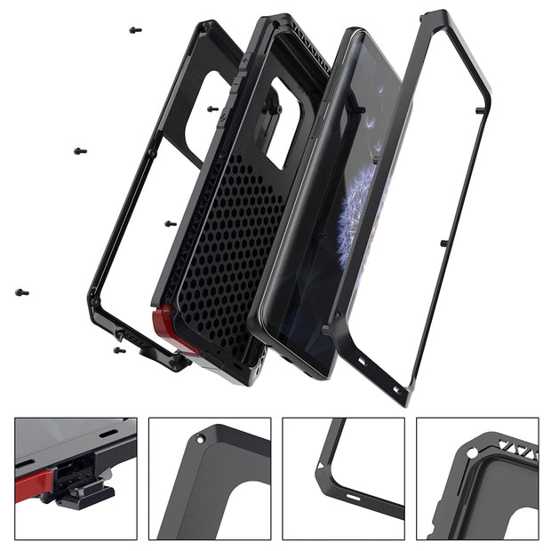 [Year-end Clearance] For Samsung Galaxy S8 S9 Plus Luxury Armor Protection Case Samsung Note8 S7 Edge Heavy Duty Shockproof Case
