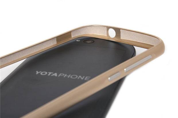 Yotaphone 2 Metal Bumper Buckle Case Cover For Yota Phone 2 No Screws Ultra Slim Aluminum Cell Phone Frame Protect Cases 7 Color