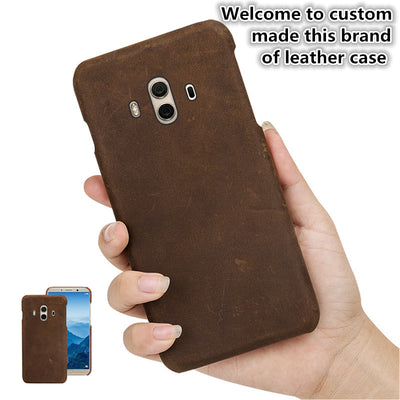 ZD10 Genuine Leather Half Wrapped Cover For OnePlus 5T A5010(6.01') Back Case For OnePlus 5T Phone Case Cover Free Shipping