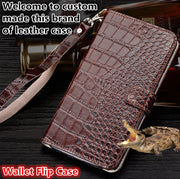 ZD13 Genuine Leahther Wallet Flip Case With Hand Strap For Samsung Galaxy S9 Plus Phone Case For Samsung Galaxy S9 Plus Case