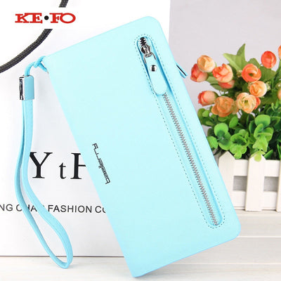 Zipper Purse Women Wallet Case For Iphone 5S SE 6 6S 7 8 Plus X Universal Case For IPhone XS Max XR Case Coque For IPhone XR XS