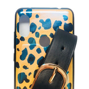 Case For Xiaomi Redmi Note 6 Pro Case Cover Luxury Blue Ray Leopard Wristband Soft Silicon Phone Bag Cases For Redmi Note 6 Pro