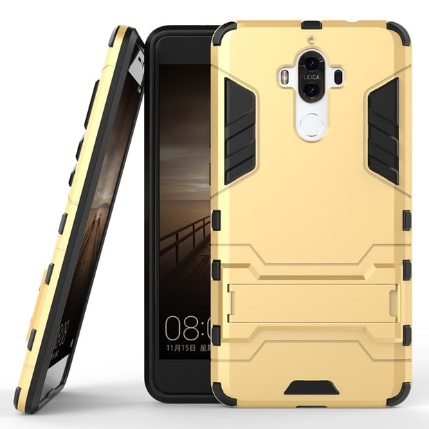 Coque Huawei Mate 9 Cases 2016 ShockProof Silicone Hard Back Cover Case For Huawei Mate 9 Phone Case Huawei Mate9 Cases 5.9 Inch