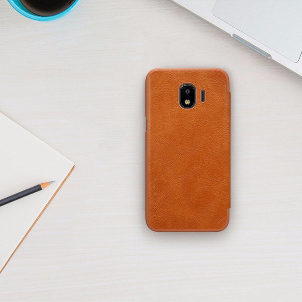 For Samsung Galaxy J2 Pro 2018 Case Nillkin Qin Series Cell Phone
