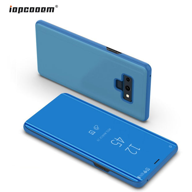 For Samsung Galaxy Note 9 Case Luxury Flip Standing Smart View Leather Case For Samsung Note 9 Fundas Note9 Back Cover Coque