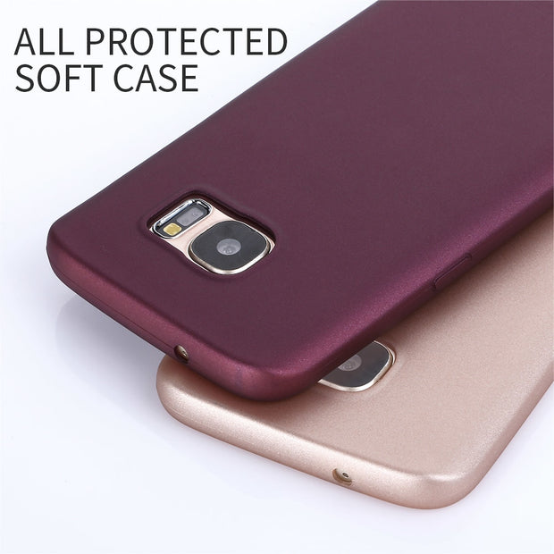 For Samsung Galaxy S7 Edge Case X-Level Guardian Ultra Thin Matte Soft Silicone TPU Phone Back Cover For Samsung S7 / S7 Edge