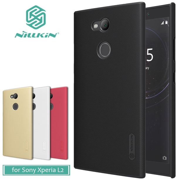 For Sony Xperia L2 Case Nillkin Super Frosted Shield Plain Hard Back PC Cover Case For Sony Xperia L2 Nilkin Matte Phone Case