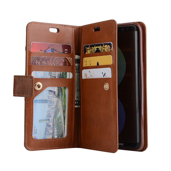 newest 2d6d1 d06c2 For Oneplus 5T One Plus 5 T Phone Case Wallet Case Card Pocket Luxury  Leather PU Flip Cover Coque Funda For 1+5T Case And Strap