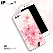 Ipngve 3D Relief Printing Clear Soft TPU Case For Huawei Honor 10 Case Phone Back Cover Ultra-thin Fundas For Huawei Honor V10