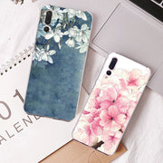 Ipngve 3D Relief Printing Clear Soft TPU Case For Huawei P20 Case P 20 Phone Back Cover Ultra-thin Fundas For Huawei P20