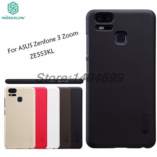 innovative design 9d85e 0ab73 SFor ASUS Zenfone 3 Zoom ZE553KL Case Nillkin Frosted Shield Hard Armor PC  Back Cover Case For ZE553KL