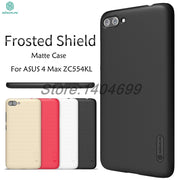 SFor ASUS Zenfone 4 Max ZC554KL Case ZC554KL Matte Cover Nillkin Frosted Shield Back Case For ASUS 4 Max ZC554KL