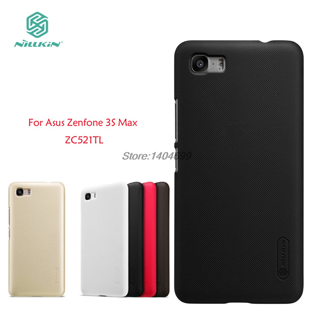 SFor Asus Zenfone 3S Max ZC521TL Case Nillkin Frosted Shield Hard Armor PC Back Cover ZC521TL Case