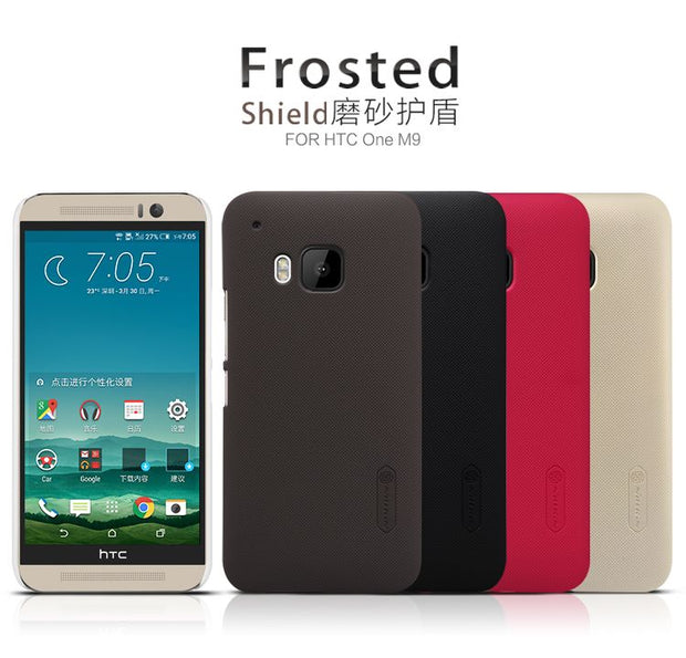 SFor HTC ONE M9 Case Nillkin Frosted Shield Hard Armor Back Cover Matte Case For HTC ONE M9