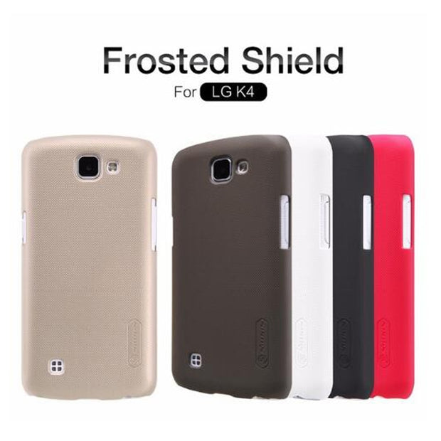 SFor LG K4 Case Nillkin Frosted Shield Hard Armor Back Cover Matte Case For LG K4