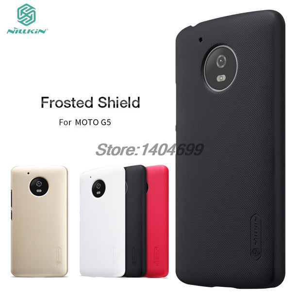 SFor Motorola MOTO G5 Case Nillkin Frosted Shield Hard Back Cover Case For MOTO G5
