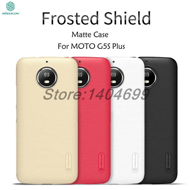 SFor Motorola MOTO G5S Plus Case Nillkin Frosted Shield Back Cover Matte Case For MOTO G5S Plus