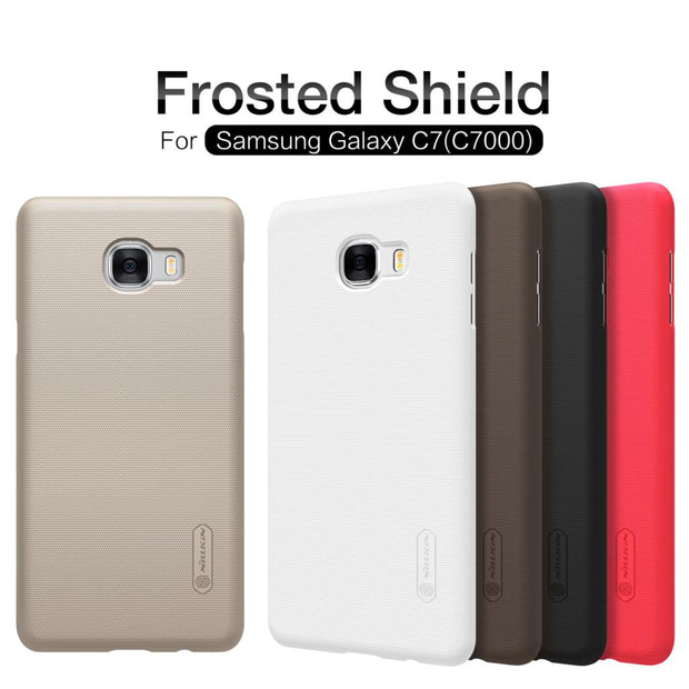 SFor Samsung Galaxy C7 Case Nillkin Frosted Shield Cover PC Case For Samsung Galaxy C7 C7000