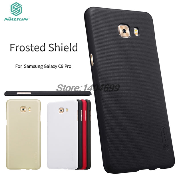 SFor Samsung Galaxy C9 Pro Case Nillkin Frosted Shield Hard Back Cover For Samsung C9 Pro