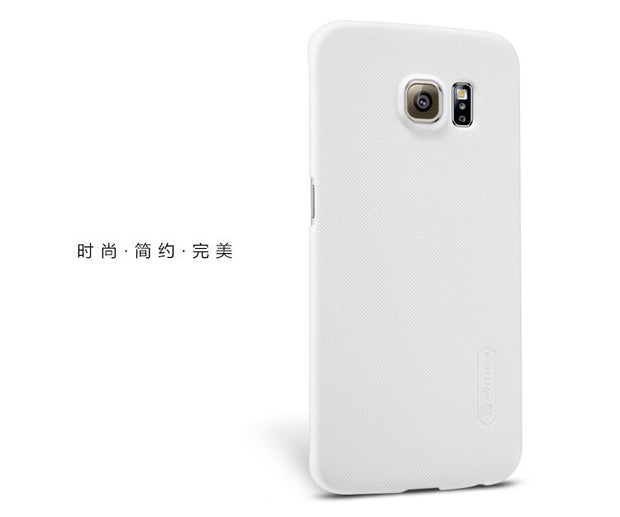 SFor Samsung Galaxy S6 Edge Case Cover Nillkin Frosted Shield Back Cover Matte Case For Samsung G9250