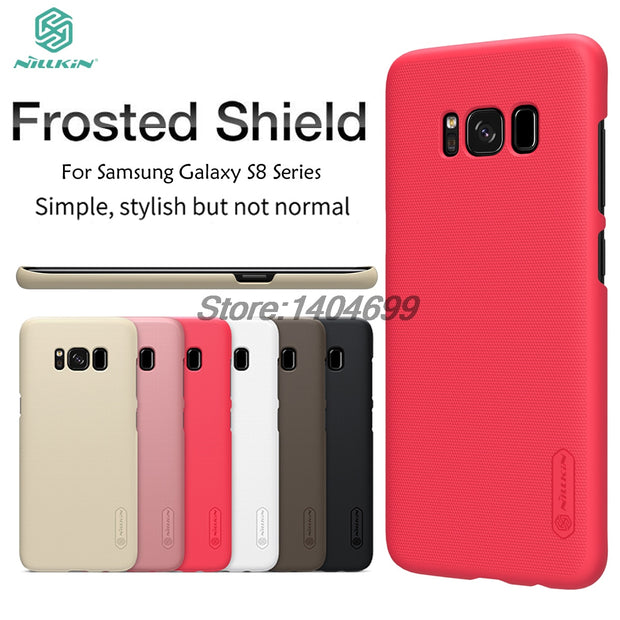 SFor Samsung Galaxy S8 Case Nillkin Frosted Shield Hard Armor Back Cover Matte Case For Samsung S8