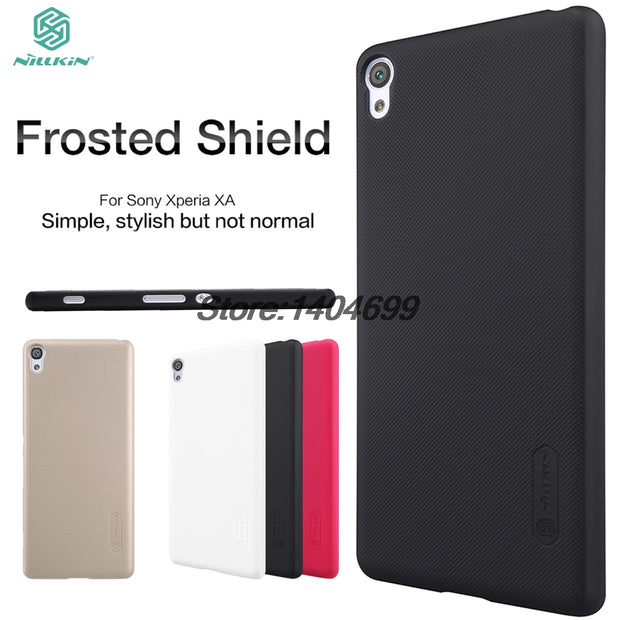 SFor Sony Xperia XA Case Nillkin Frosted Shield Hard Armor Back Cover Matte Case For Sony Xperia XA