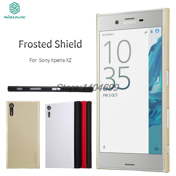 SFor Sony Xperia XZS Case Cover Nillkin Frosted Shield Hard Armor Back Cover Case For Sony Xperia XZ