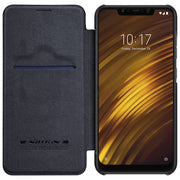 Xiaomi Pocophone F1 Case Original NILLKIN QIN Series Flip Leather Wallet Phone Cover For Xiaomi Pocophone F1 Case
