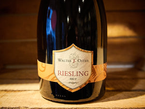 Walter J. Oster - Riesling Brut 2017