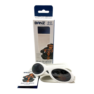 Banz Baby Sunglasses in White