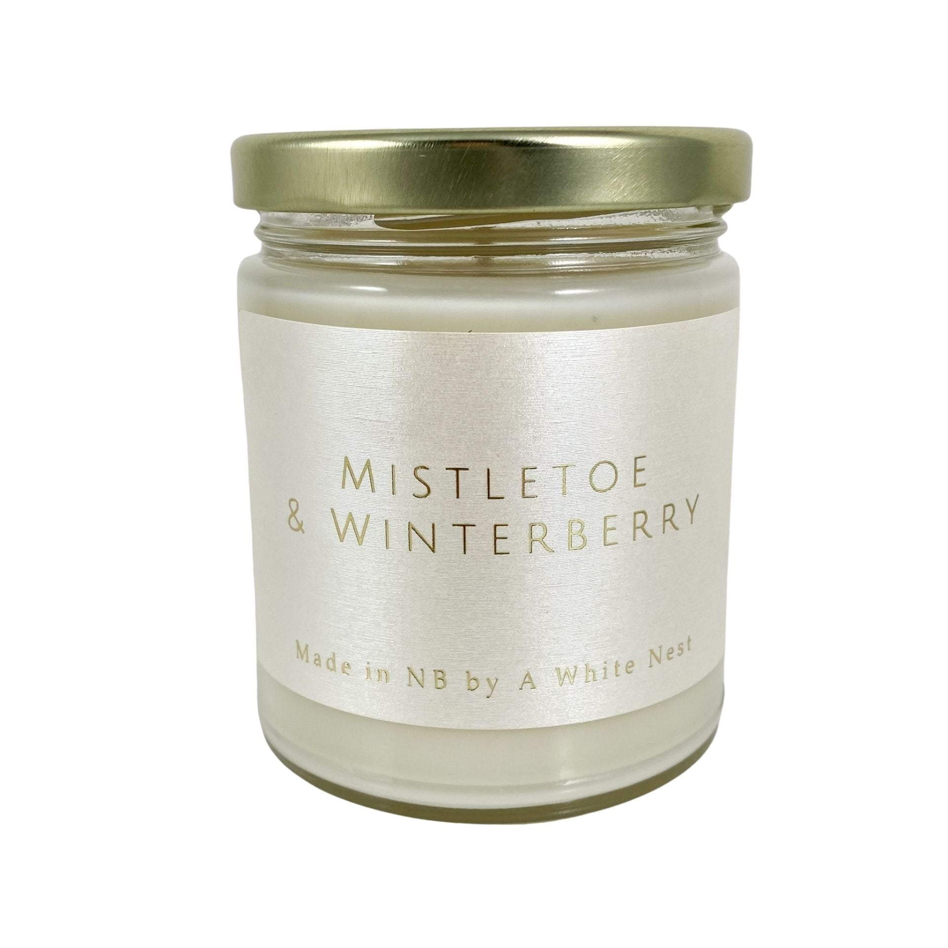 Mistletoe & Winterberry Soy Wax Candle