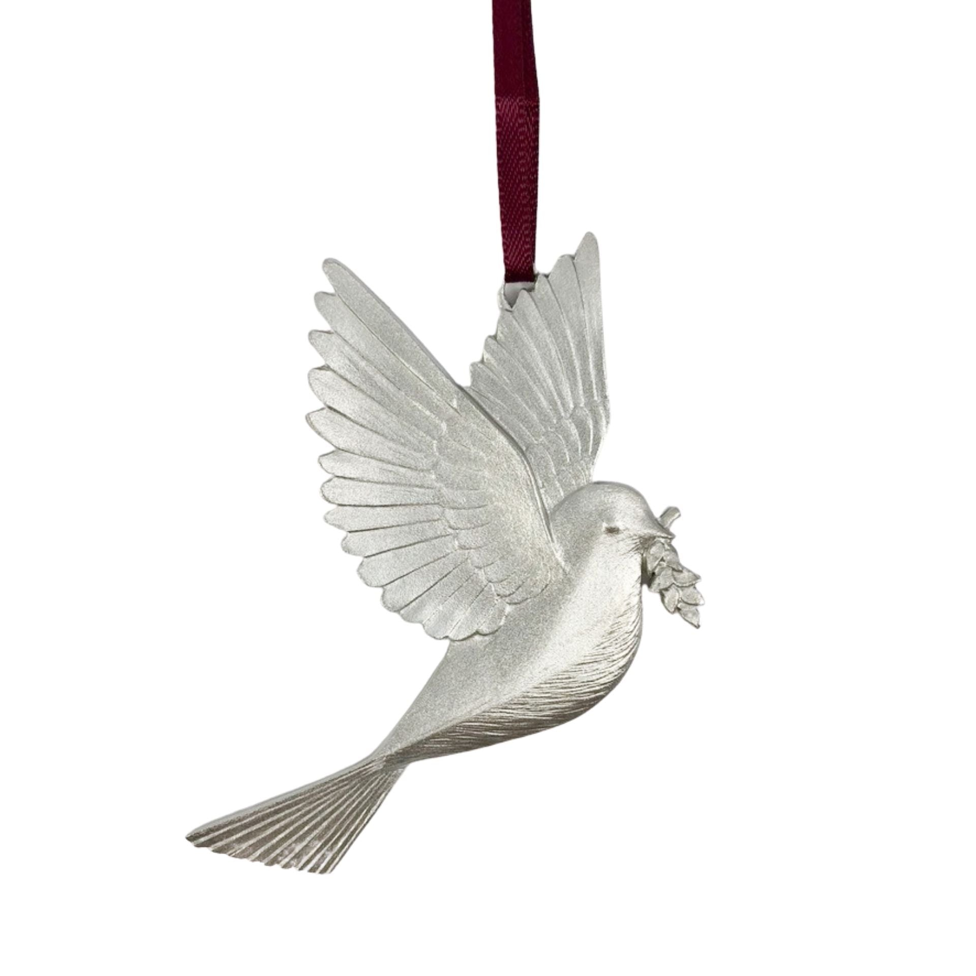 Pewter Peace Ornament