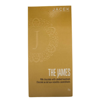 The James Milk Chocolate With Candied Hazelnuts